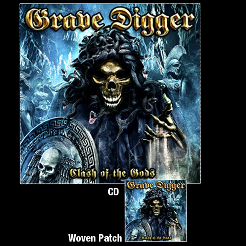 GRAVE DIGGER - Clash of the gods DIGIPACK