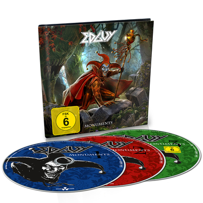 EDGUY - Monuments 2CD+DVD