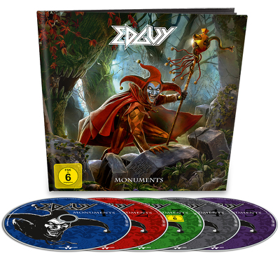 EDGUY - Monuments EARBOOK 4CD+DVD