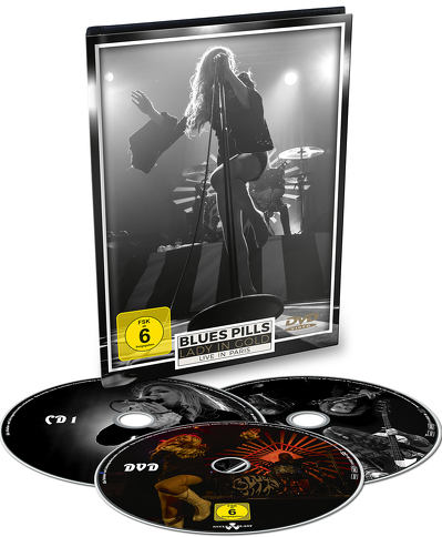 BLUES PILLS - Lady in gold : live in Paris BLURAY