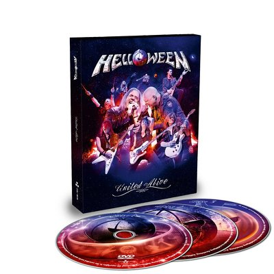 HELLOWEEN - United alive 3DVD