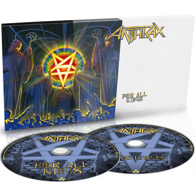 ANTHRAX -  For all kings 2CD