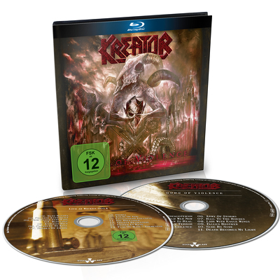 KREATOR - Gods and violence BLURAY+CD