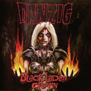 DANZIG - Black laden crown DIGIPACK
