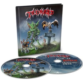 TANKARD - One foot in the grave CD+DVD
