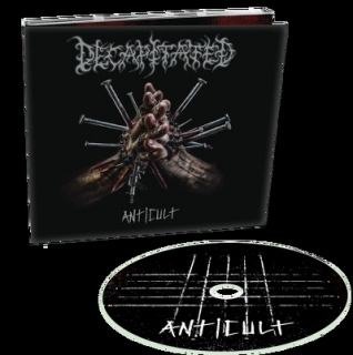 DECAPITATED - Anticult DIGIPACK