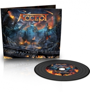 ACCEPT - The rise of chaos DIGIPACK