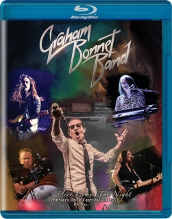 BONNET GRAHAM - Live here comes the NIGHT DVD+CD