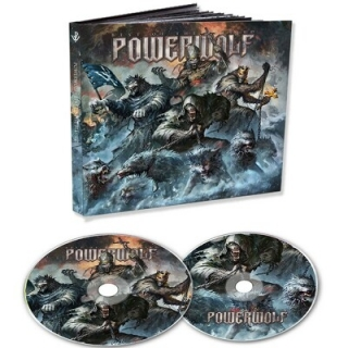 POWERWOLF - Best of the blessed 2CD DIGIPACK