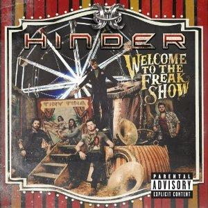 HINDER - Welcome to the freak show