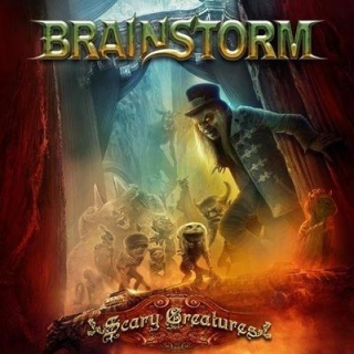 BRAINSTORM - Scary creatures CD+DVD
