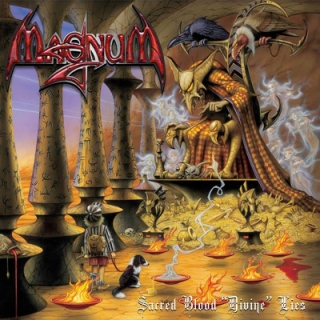 MAGNUM - Sacred blood divine lies CD+DVD