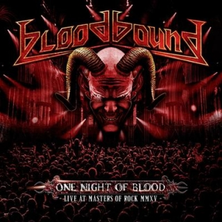 BLOODBOUND - One night of blood DVD+CD