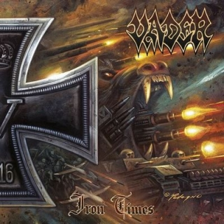 VADER - Iron times MINI CD