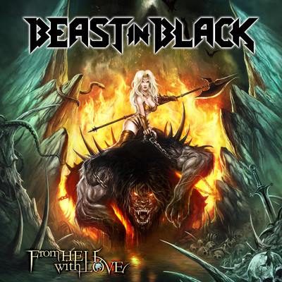 BEAST IN BLACK - From hell with love DIGIPACK