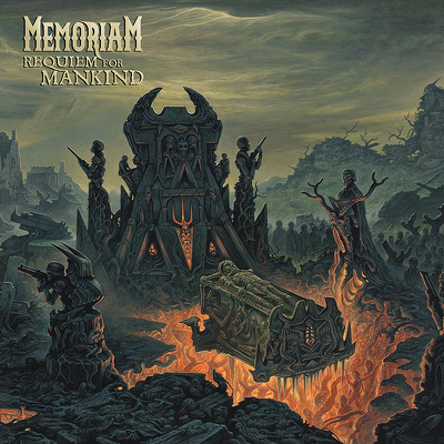 MEMORIAM - Requiem for mankind DIGIPACK