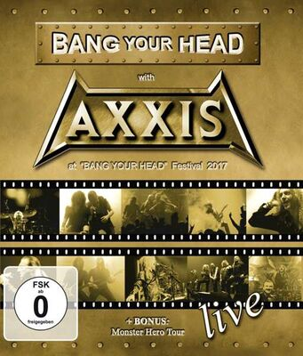 AXXIS - Bang your head BLURAY