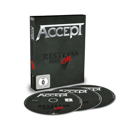 ACCEPT - Restless and live DVD+2CD