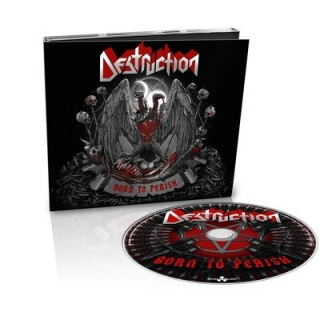 DESTRUCTION - Born to perish DIGIPACK