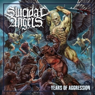 SUICIDAL ANGELS - Years of aggression DIGIPACK