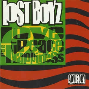 LOST BOYZ - Love peace and happiness