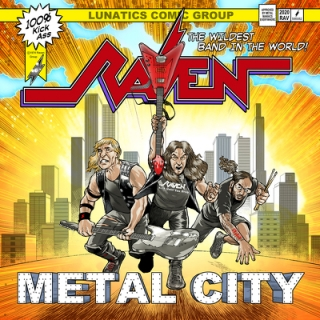 RAVEN - Metal city DIGIPACK