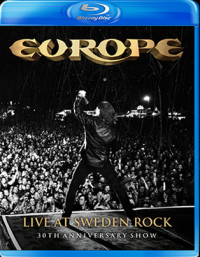 EUROPE - Live at Sweden rock BLUERAY
