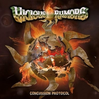 VICIOUS RUMORS - Concussion protocol DIGIPACK